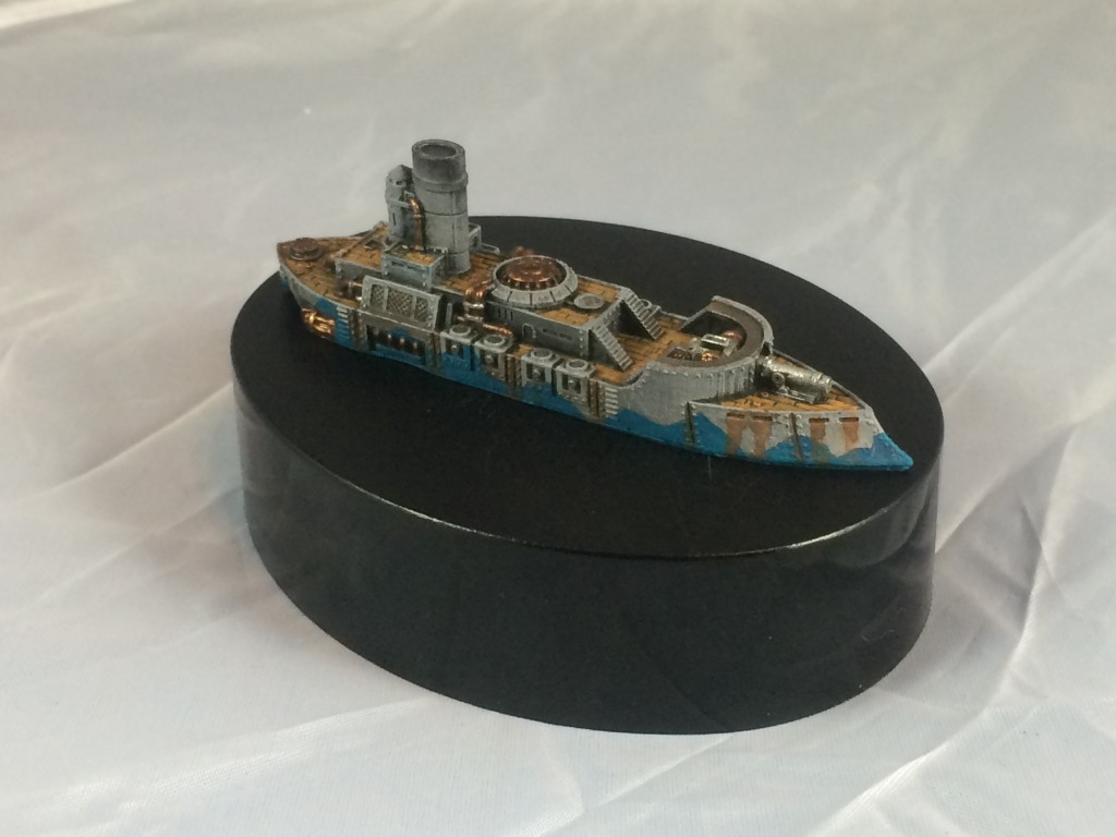 This is the first ship I've painted for my DW Australians.